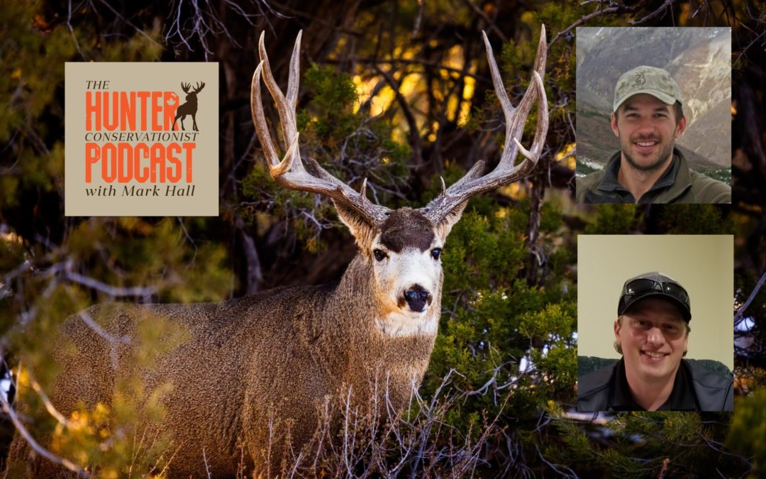 Episode 15 – Deer Ecology, Research and Management with Patrick Stent andJeff Berdusco